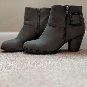 Gray Booties!